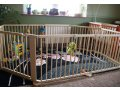 Playpen - grondbox - kruipbox 7,3m naturel inklapbaar 2016